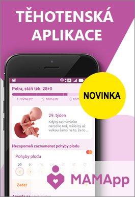 těhotenská aplikace